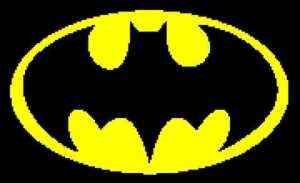 Batman Symbol 180x110