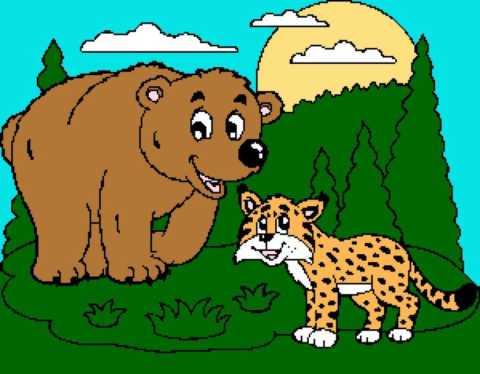 Bear and Lynx 300x234