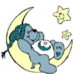 Bedtime Bear on Moon 260x236