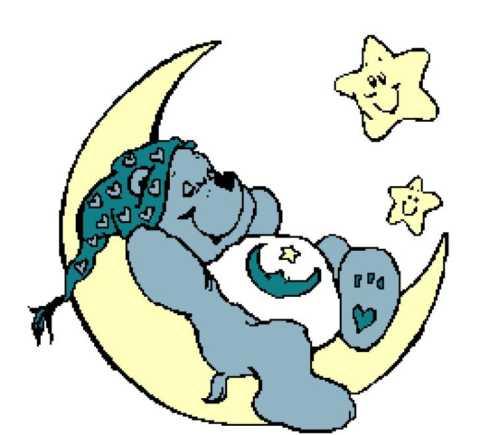 Bedtime Bear on Moon 260x236