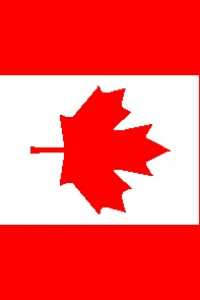 Canadian flag 197x295