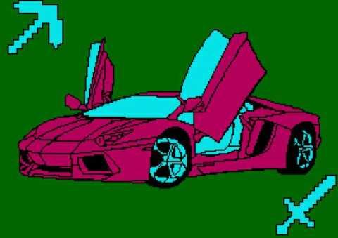 Car with mindcraft tools 266x188_mini
