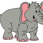 Cute Elephant 204x153_mini