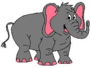 Cute Elephant 256x192_mini