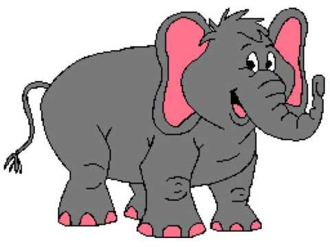 Cute Elephant 256x192_mini