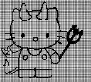 how to make tunisian crochet graph