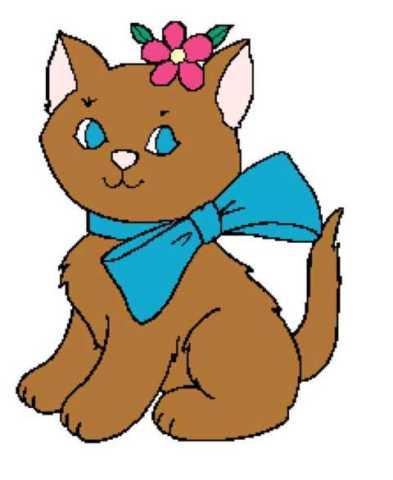 Kitten With Bow 223x273_mini