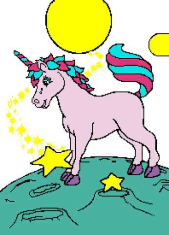 Unicorn in Space 198x275_mini