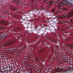 Burgundy Tablecloth 3
