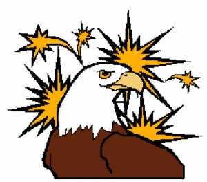 Eagle and Stars 223x196
