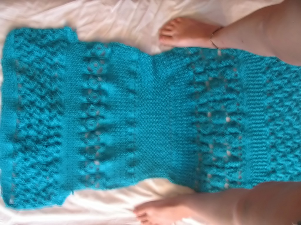 Blue Dress Back 3