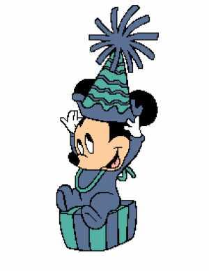 Baby Mickey Birthday Hat 212x275