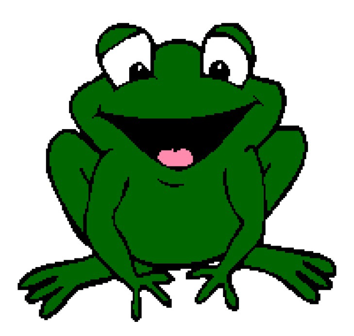 how to draw a simple cartoon frog