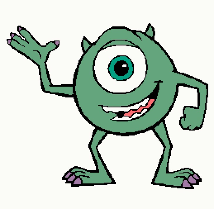 Mike 1 Monsters Inc 259x253