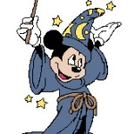 Wizard Mickey 170x240