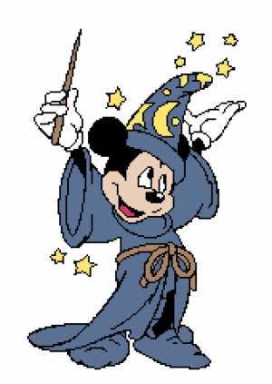 Wizard Mickey 198x280