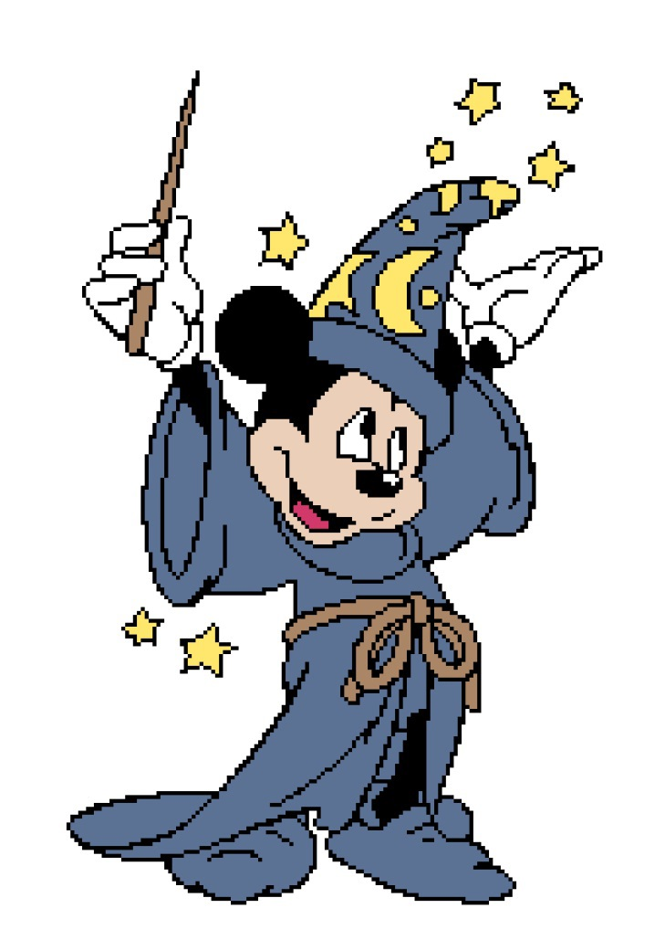 Wizard Mickey 198x280