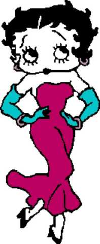 Betty Boop 1 133x324