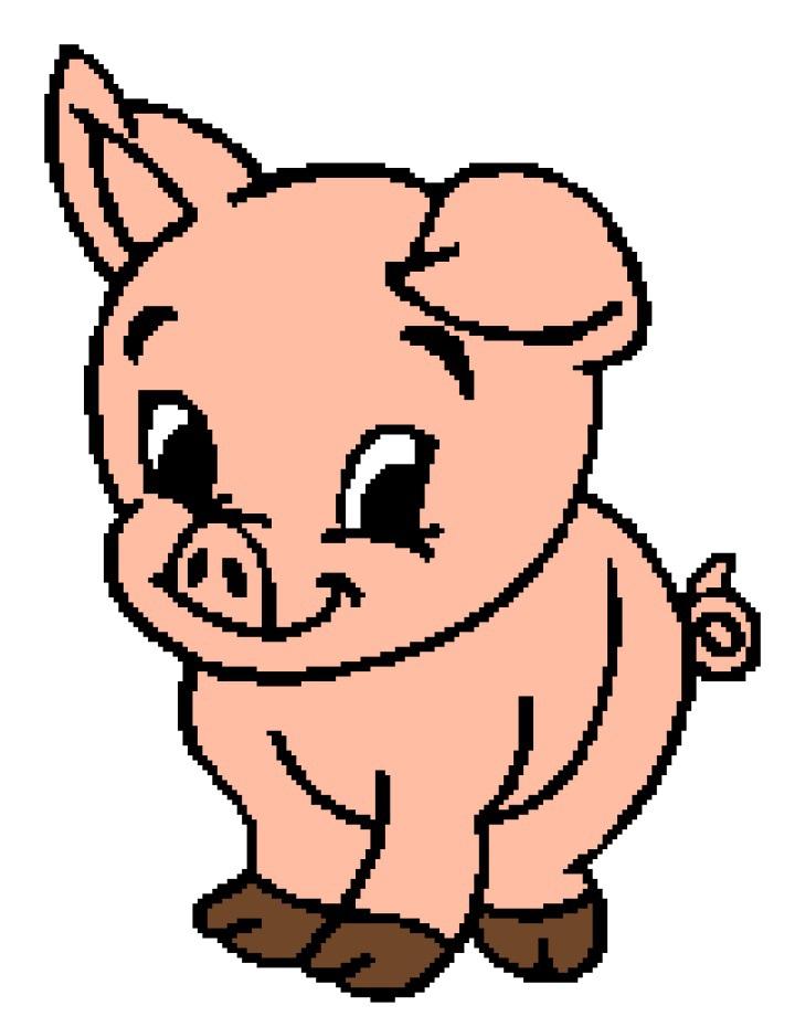 Cute Pig 1 163x208