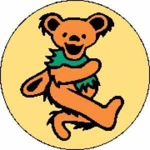 Greatful Dead Bear 2 180x180