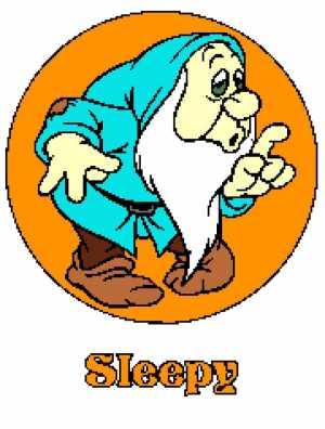 Sleepy Dwarf with Name 180x238