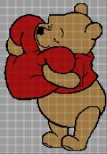 Winnie the Pooh with Heart 137x197
