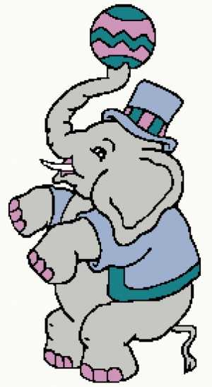 Playful Elephant 151x275